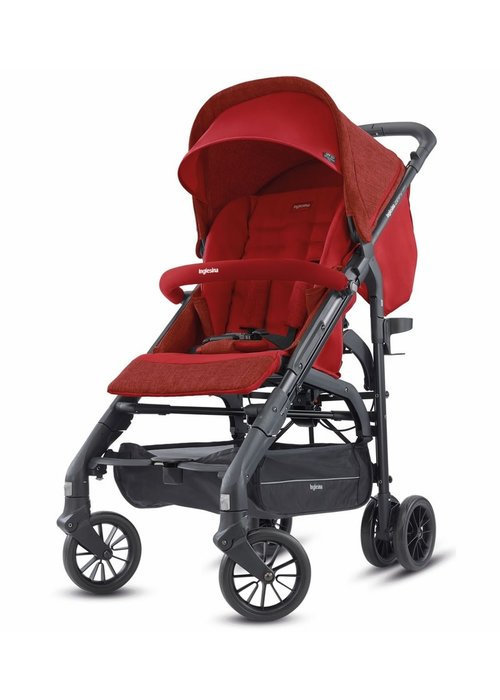 Inglesina 2020 Inglesina Zippy Light Stroller In Brick Red