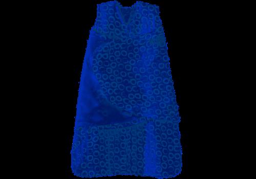 Halo HALO SleepSack Swaddle Small, 100% cotton muslin, Circles Turquoise