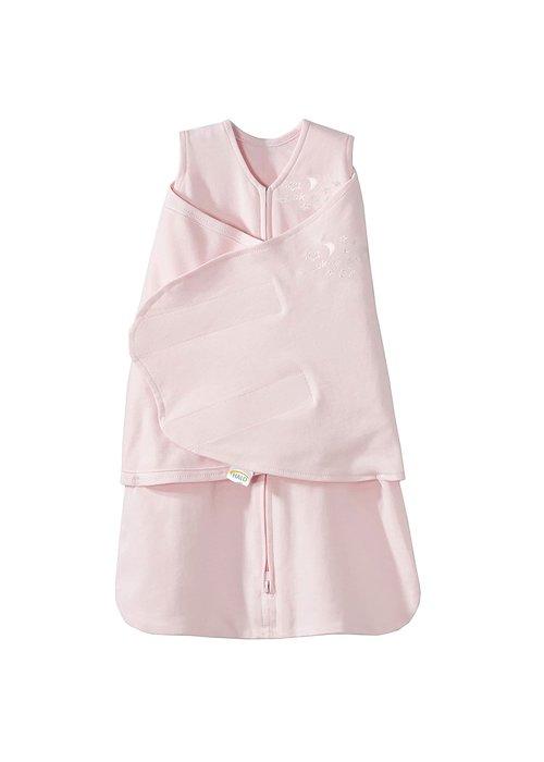Halo HALO SleepSack Swaddle, 100% Cotton, Soft Pink, SM