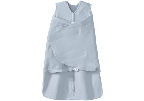 Halo HALO SleepSack Swaddle, 100% Cotton, Baby Blue, SM