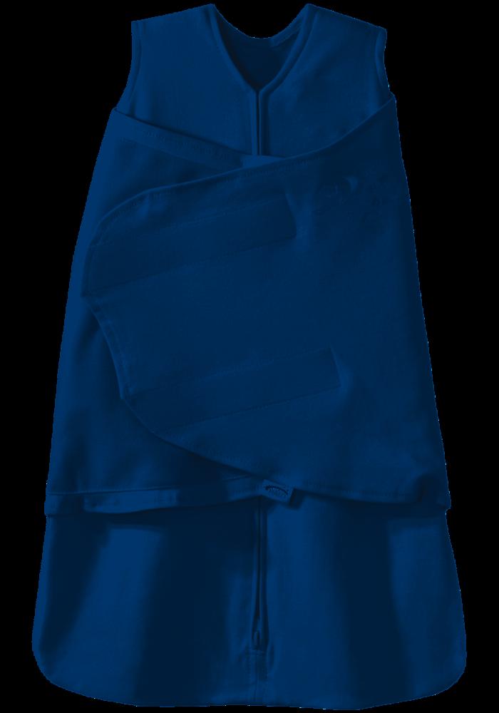HALO SleepSack Swaddle, 100% Cotton, Baby Blue, SM