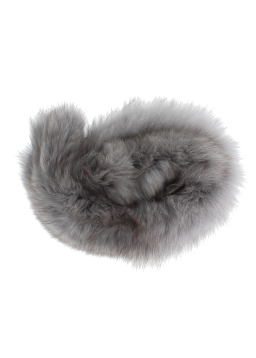 Baby Frr Baby Frr Fur For Stroller In Light Grey