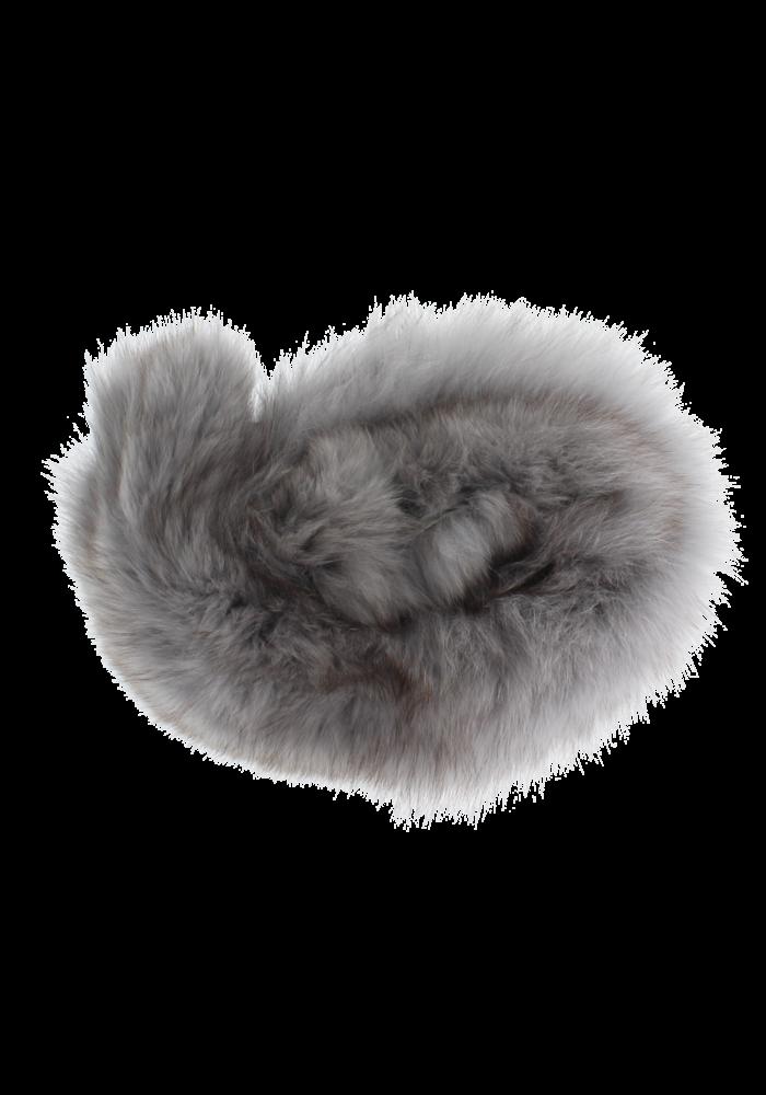 Baby Frr Fur For Stroller In Light Grey