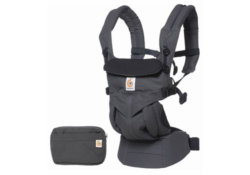 ERGObaby Ergo Baby Omni 360 Baby Carrier All-In-One Charcoal