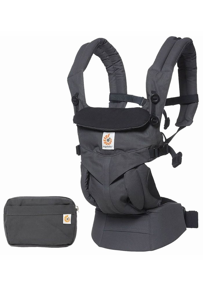 Ergo Baby Omni 360 Baby Carrier All-In-One Charcoal