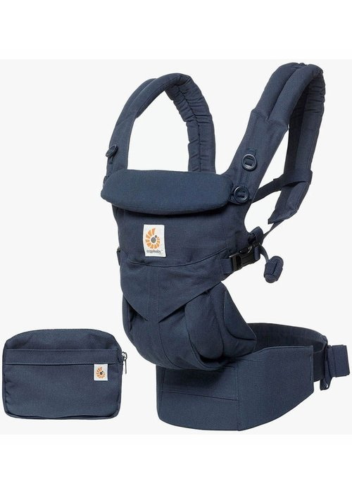 ERGObaby Ergo Baby Omni 360 Baby Carrier All-In-One Midnight Blue