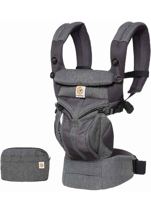 ERGObaby Ergo Baby Omni 360 Mesh Baby Carrier All-In- Classic Weave