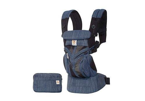 ERGObaby Ergo Baby Omni 360 Mesh Baby Carrier All-In- Indigo Weave