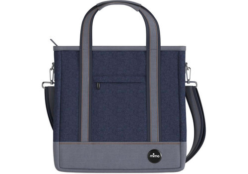 Mima Kids Mima Zigi Changing Bag In Denim Blue