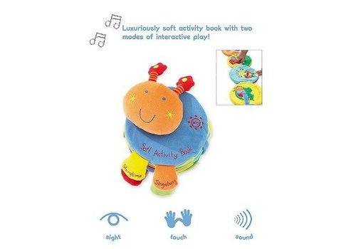 Mamas And Papas CLOSEOUT!! Mamas And Papas Listen And Learn Activity Book