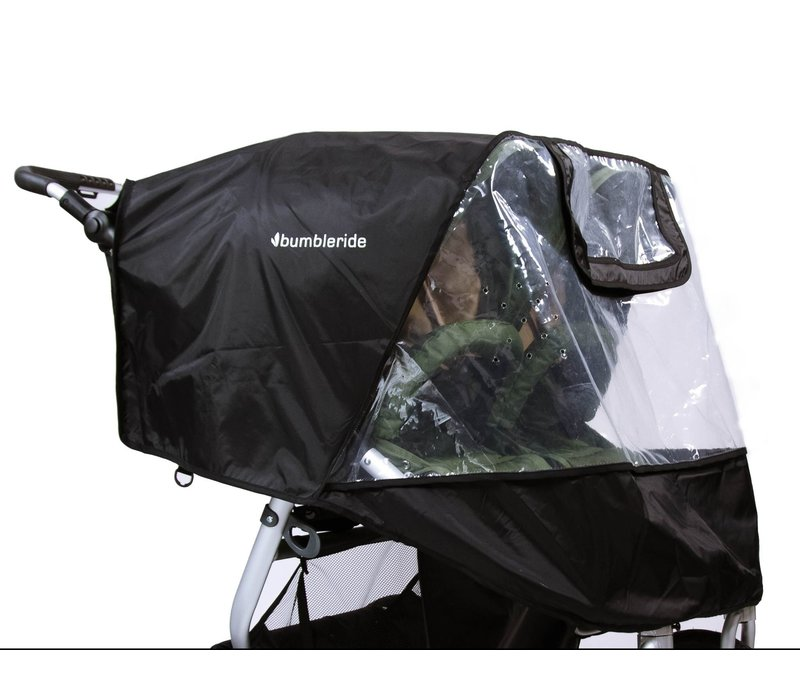 2020 Bumbleride Indie Twin Non-PVC Rain Cover