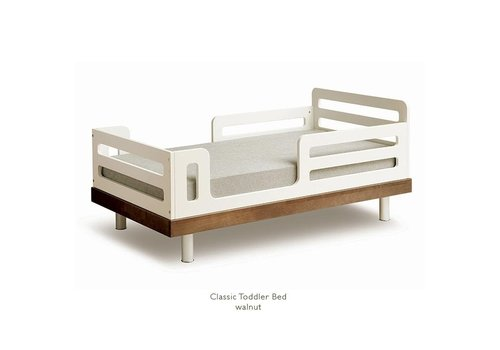 Oeuf Oeuf Classic Toddler Bed ln Walnut
