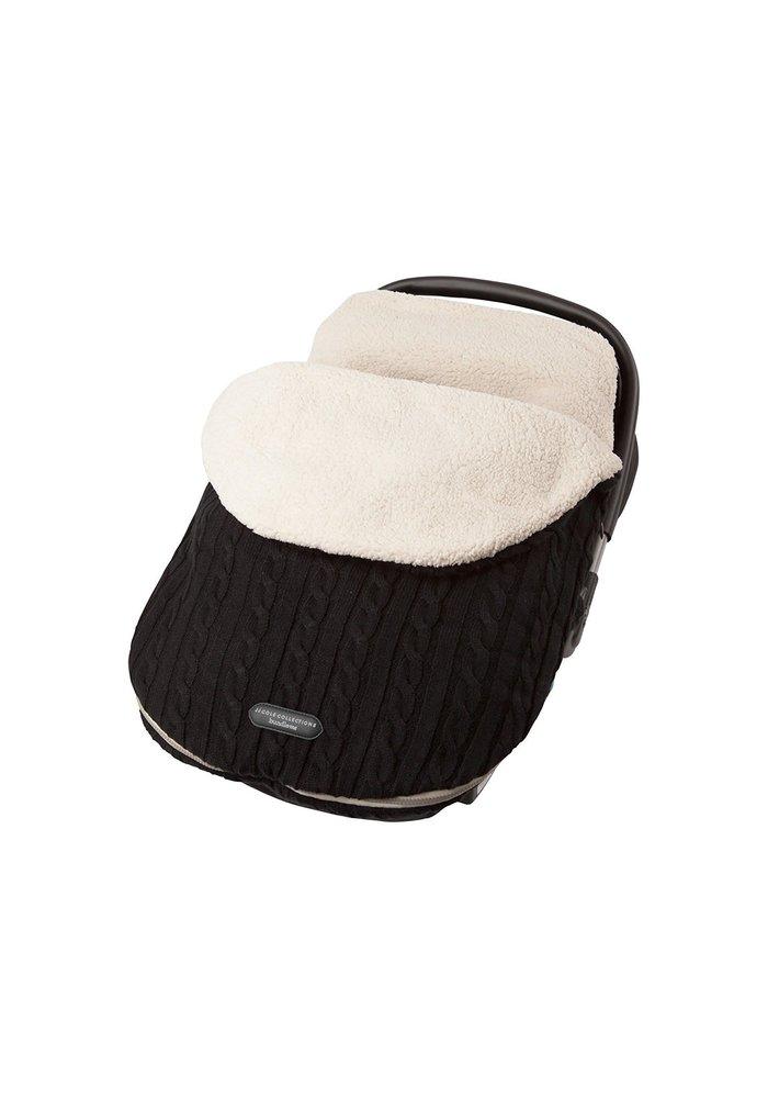 JJ Cole Infant Knit Bundle Me In Black