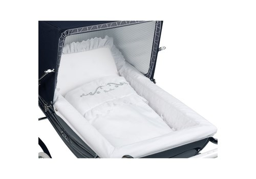 Silver Cross Silver Cross Balmoral Bedding Set For Balmoral Or Kensington