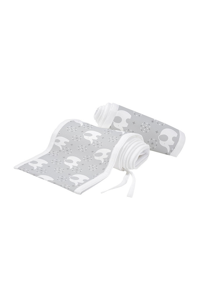 Breathable Baby Breathable Classic Peaceful Elephant Gray