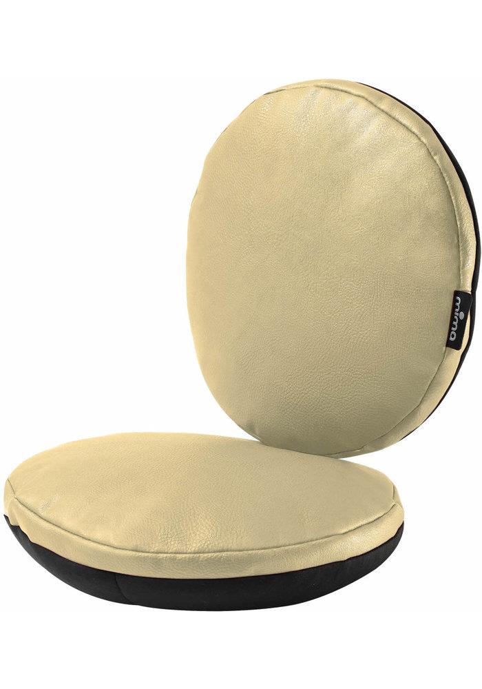 Mima Kids Moon Junior Chair Cushion Set In Champagne