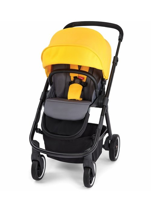 Diono Diono Excurze Stroller In Yellow Sulphur
