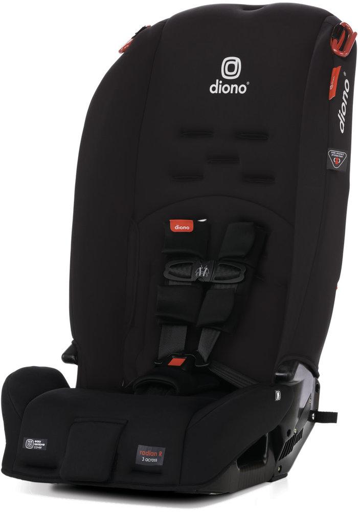 Diono Radian 3 R  Latch In Black Jet
