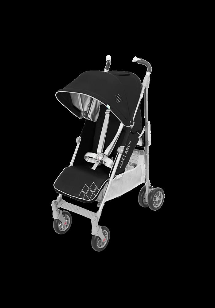 Maclaren Techno XT Stroller In Black-Silver