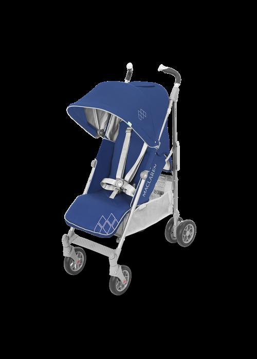Maclaren Maclaren Techno XT Stroller In Medieval Blue-Silver
