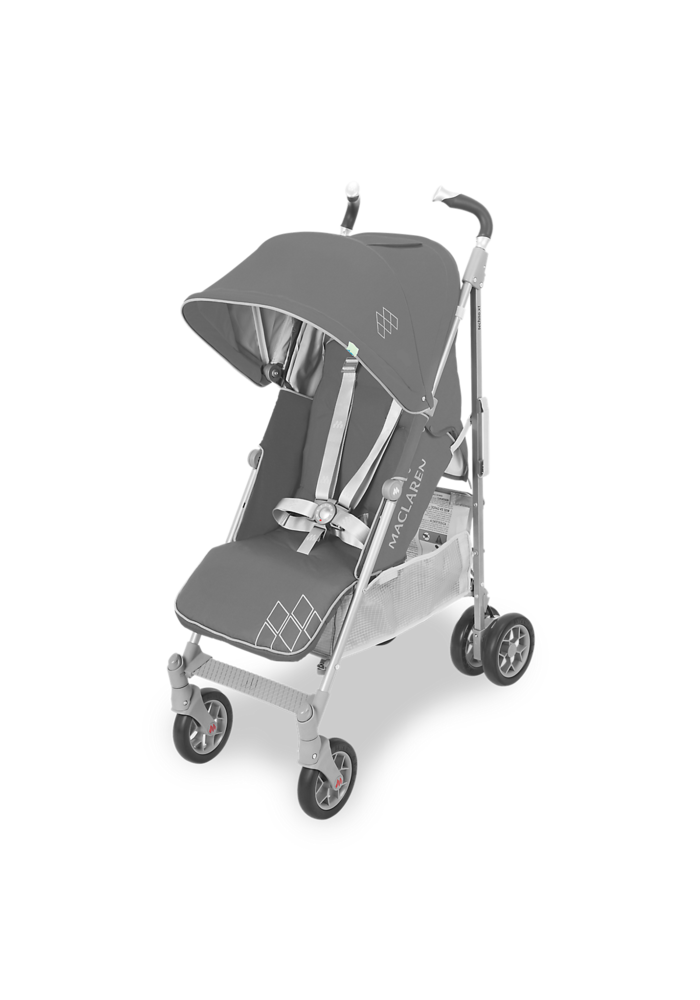 CLOSEOUT!! Maclaren Techno XT Stroller In Charcoal-Silver
