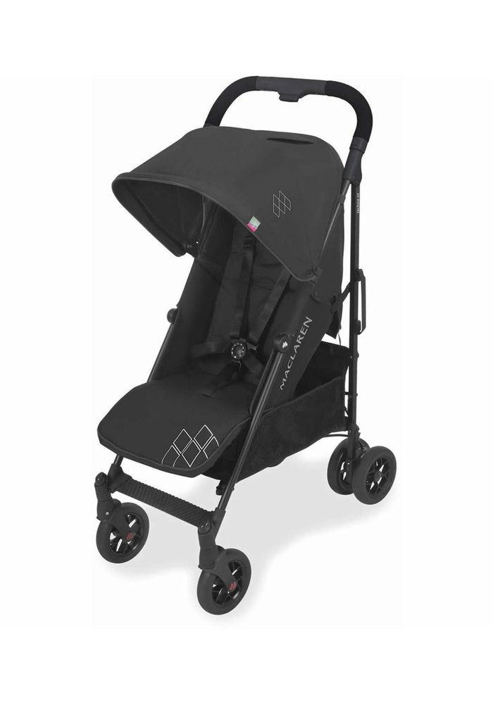 Maclaren Techno Arc Stroller In Black-Black