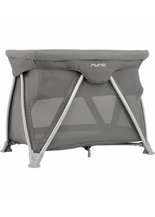 Nuna Nuna Cove Aire Pack and Play Playard Travel Crib With Bassinet In Oxford