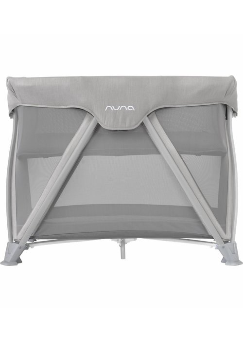 Nuna Nuna Cove Aire Pack and Play Playard Travel Crib With Bassinet In Frost