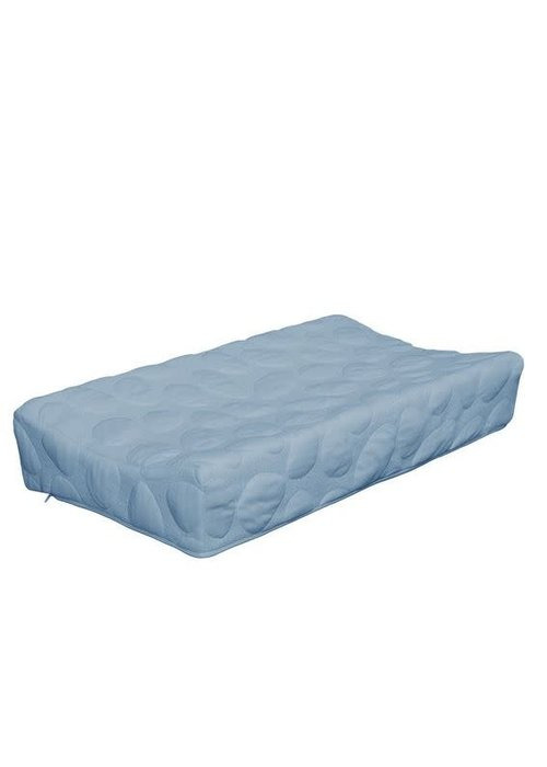 Nook Sleep Nook Sleep Organic Pebble Changing Pad In Sky
