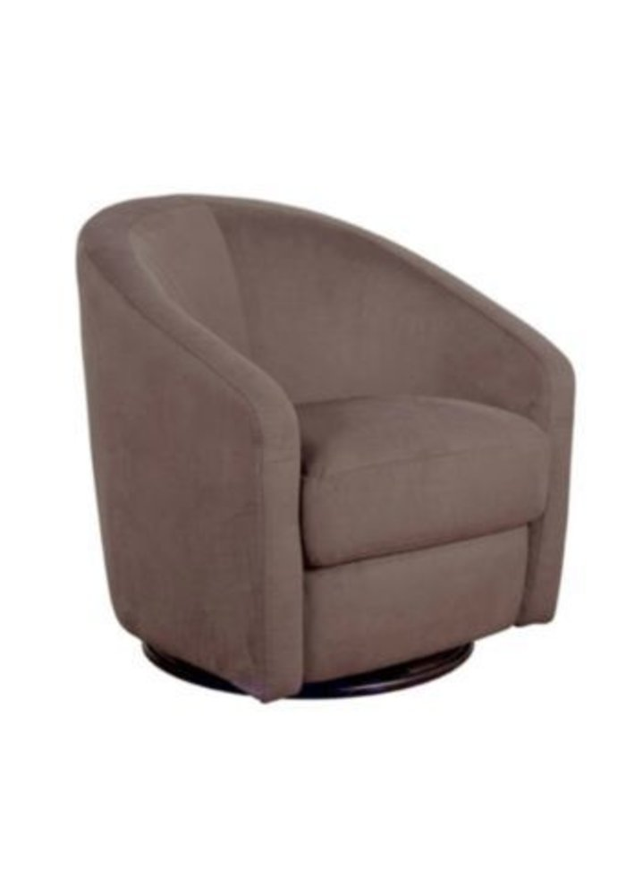 Baby Letto Madison Swivel Glider In Slate