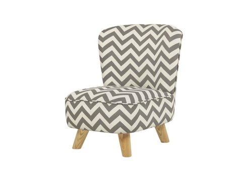 Baby Letto Baby Letto Pop Mini Chair In Chevron Grey For Toddlers