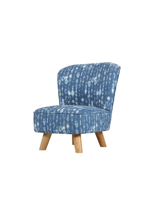 Baby Letto Baby Letto Pop Mini Chair In Indigo Blue For Toddlers