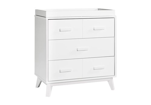 Baby Letto Baby Letto Scoot Dresser With Changer Tray In White