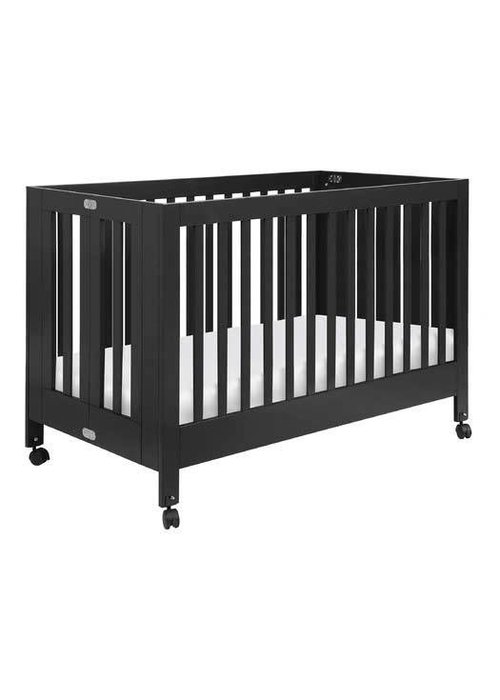 Baby Letto Baby Letto Maki Full Folding Crib In Black