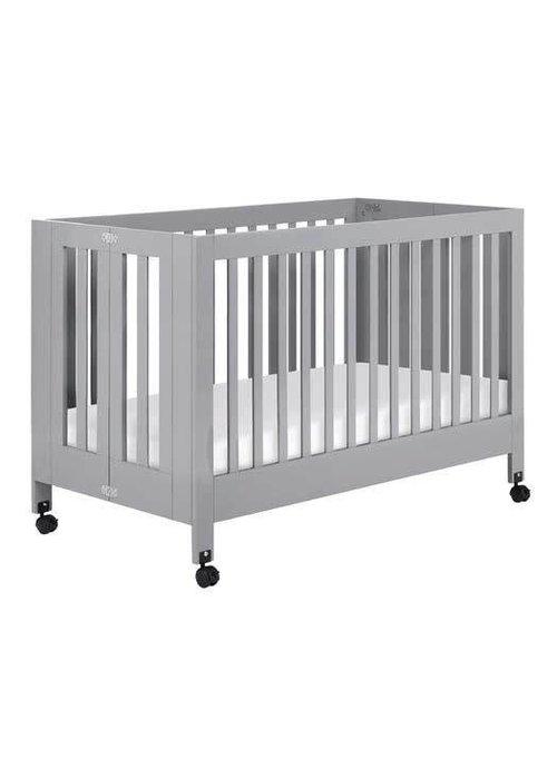 Baby Letto Baby Letto Maki Full Folding Crib In Gray