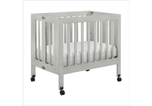 Baby Letto Baby Letto Origami Mini Crib In Grey (Pad Included)