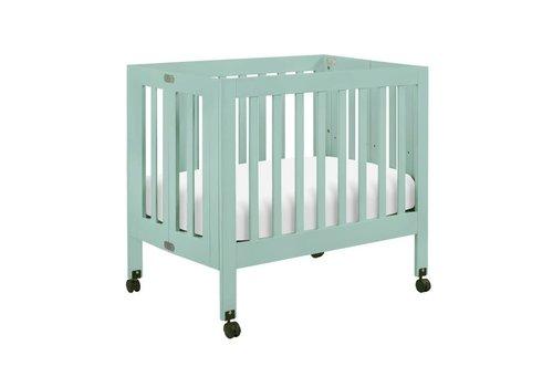 Baby Letto Baby Letto Origami Mini Crib In Lagoon (Pad Included)