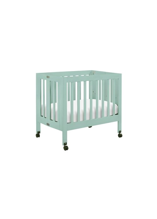 Baby Letto Baby Letto Origami Mini Crib In Lagoon (Pad Included)