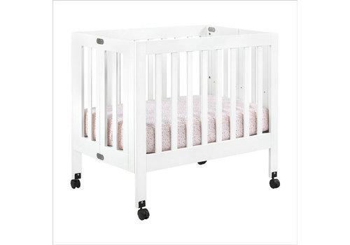 Baby Letto Baby Letto Origami Mini Crib In White (Pad Included)