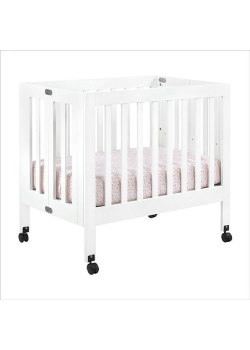 Baby Letto Baby Letto Origami Mini Crib In White (Pad Included)