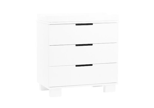 Baby Letto Baby Letto Modo 3 Drawer Changer In White  (No Pad Included)