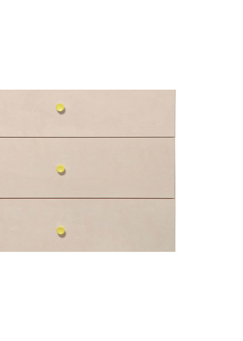 Baby Letto Baby Letto Gelato Knob Pack In Spring Yellow