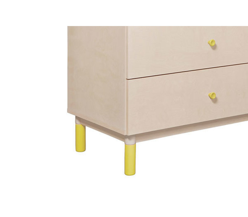 Baby Letto Gelato Feet Pack In Spring Yellow