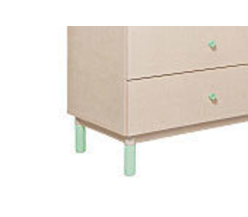 Baby Letto Gelato Feet Pack In Mint