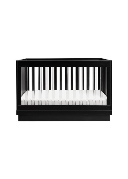 Baby Letto Baby Letto Harlow 3 In 1 Convertible Crib With Acryclic- Black