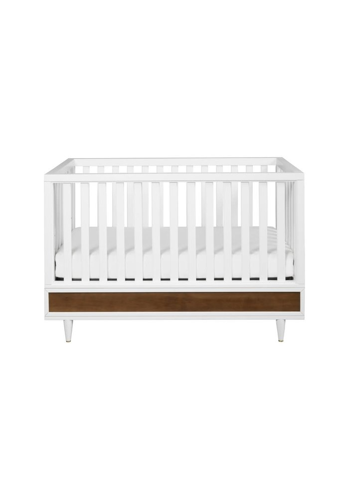 Baby Letto Eero 4-in-1 Convertible Crib with Toddler Bed Conversion Kit