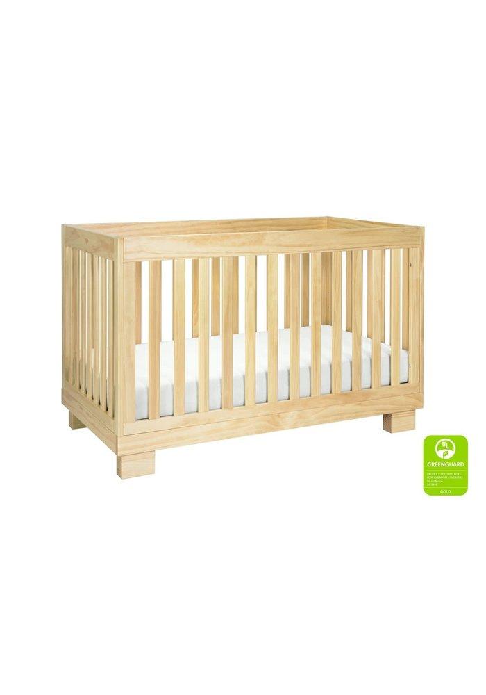 Baby Letto Modo 3 In 1 Convertible Crib In Natural