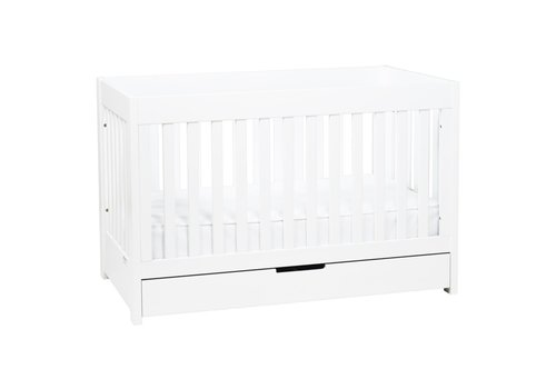 Baby Letto Baby Letto Mercer 3 In 1 Convertible Crib With Toddler Rail In White
