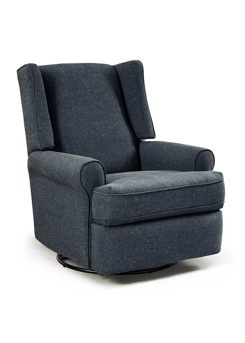Best Chairs Best Chairs Story Time Logan Swivel Glider Recliner- Custom Design Your Own Color