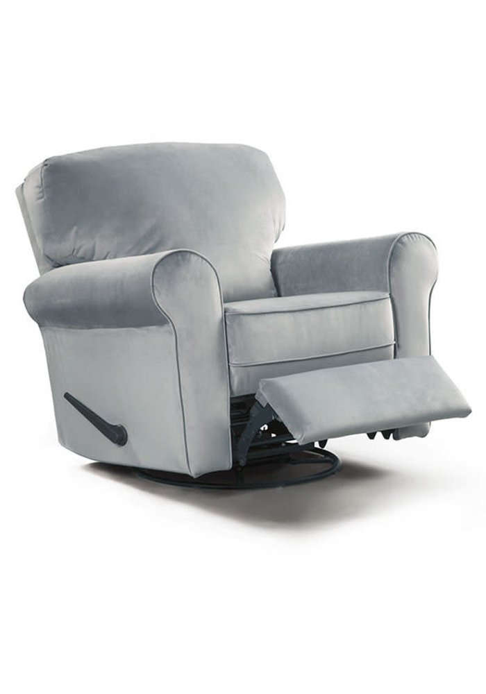 Best Chairs Story Time Irvington Swivel Glider Recliner- Custom Design Your Own Color
